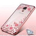 Secret Garden Plating Electroplating TPU Soft Case For Meizu Pro 5 6 M5 M3 M2 Note M3s Mini MX5 Flowers Clear Slim Back Cover