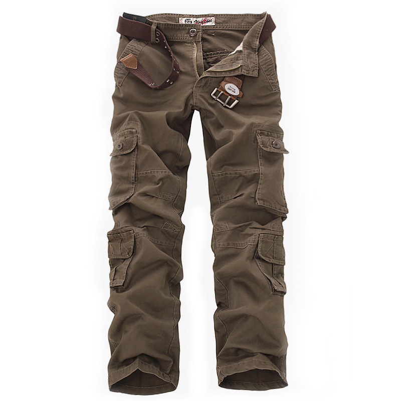 2019 New Tactical Cargo Pants Military Men High Quality Camouflage Printed Male Overalls Casual Army Straight Trousers 28-42