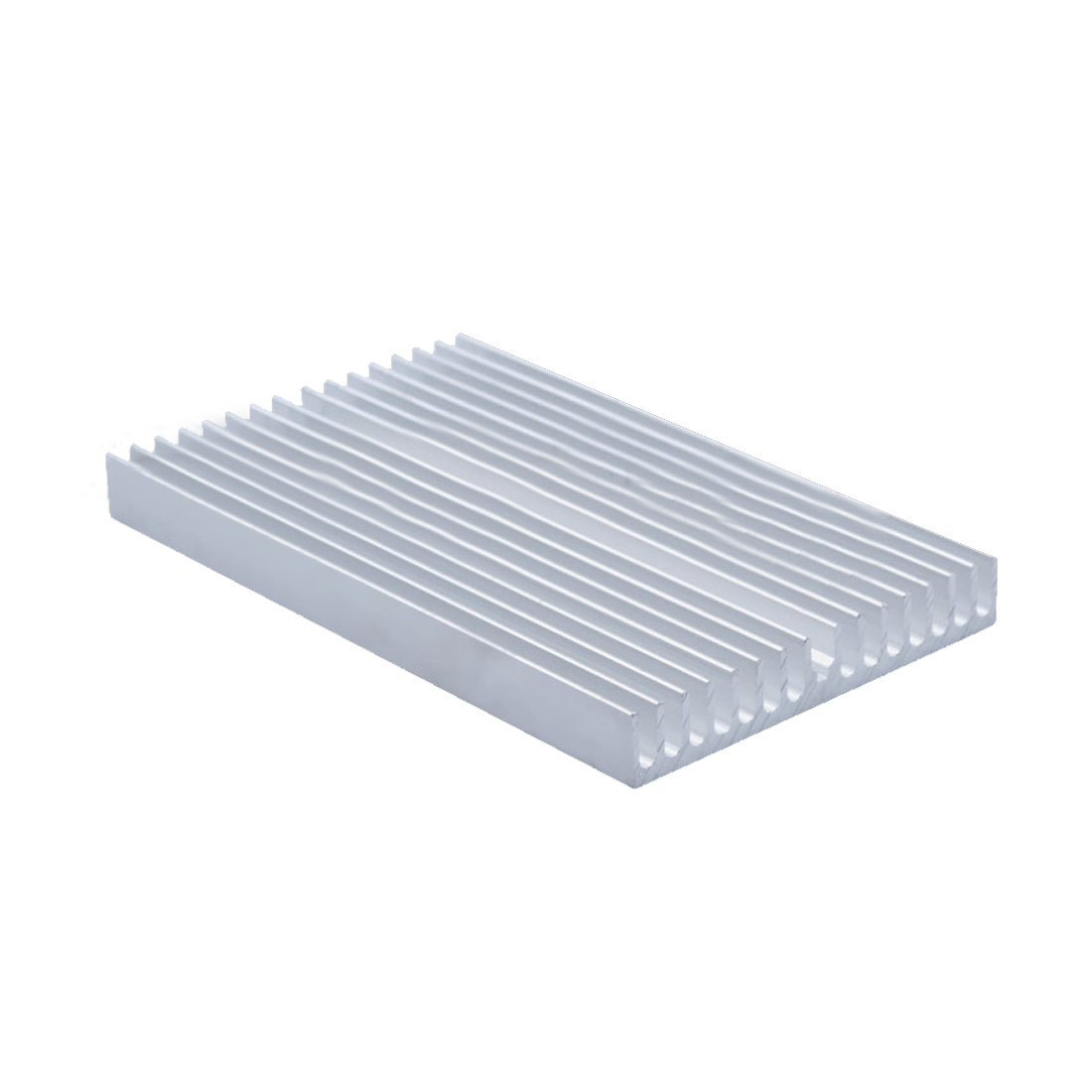 NOYOKERE Protable 100*60*10mm DIY Cooler Aluminum Heatsink Grille Shape Radiator Heat Sink Chip for IC Power Transistor 20pcs lot aluminum heatsink 14 14 6mm electronic chip radiator cooler w thermal double sided adhesive tape for ic 3d printer