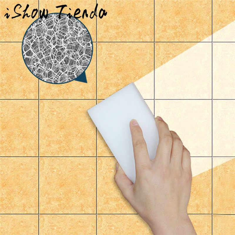 Nieuwe Collectie Nanometer Zand Spons Ontkalken Schoon Pan Pot Windows Borstel Spons Keuken Accessoires Cleaner Tool