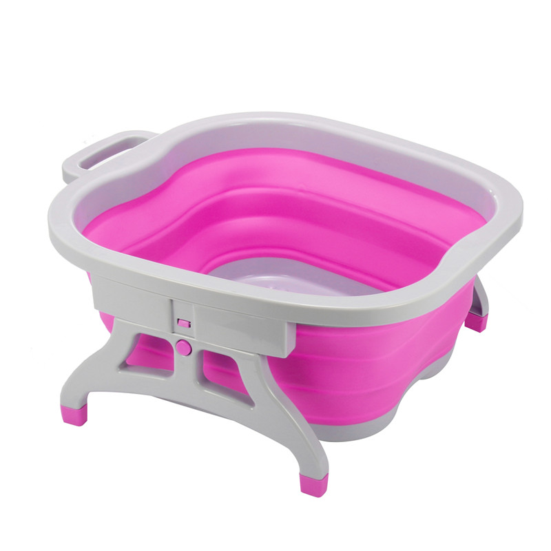 Portable Foot Spa Buckets Washing Clothes Basins Folding Foot Bucket ...