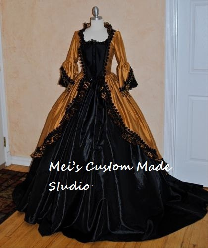 Discount Custom Made Vintage Victorian Medieval Style: Online Buy Wholesale Fantasy Gown From China Fantasy Gown