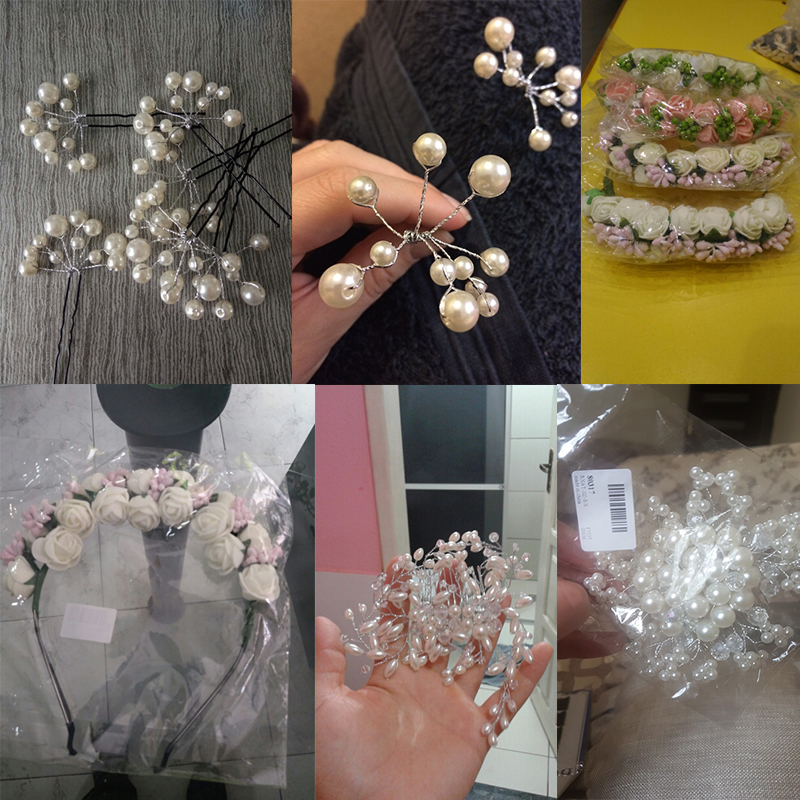 -Wedding Hair Jewerly