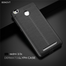 For Xiaomi Redmi 3S Case Shockproof Luxury Leather Anti-knock Cover For Xiaomi Redmi 3 Pro Case For Redmi 3 3s 3 Pro 5.0 BSNOVT
