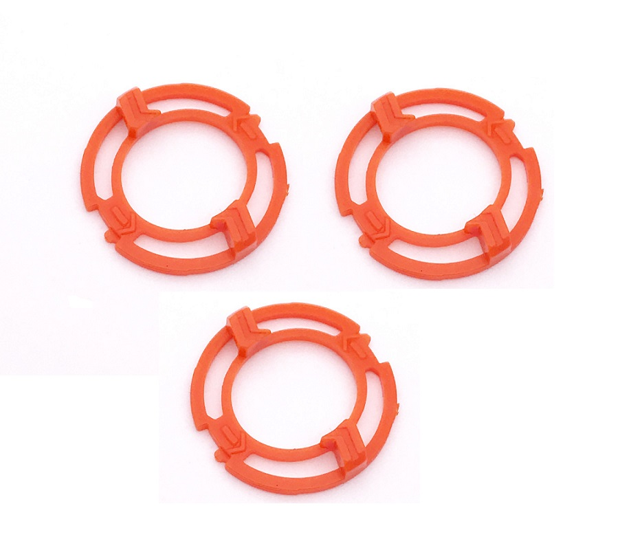 3pcs Lock-ring Retaining-Plate Holder For Philips SH70 SH90 S9000 RQ12 RQ1250 S7000 S9712 S9321 S9300 S9531 S9522 Shaving Heads