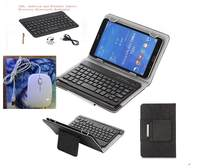 Para tableta portátil iPad soporte IOS Android Windows Sistema Universal 7/8/9,7/10,1 pulgadas portátil inalámbrico funda de teclado Bluetooth(China)