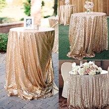 Скатерть с блестками, прямоугольная, круглая, розовое золото, серебро, скатерть, розовое золото, для свадебной вечеринки, Рождественское украшение