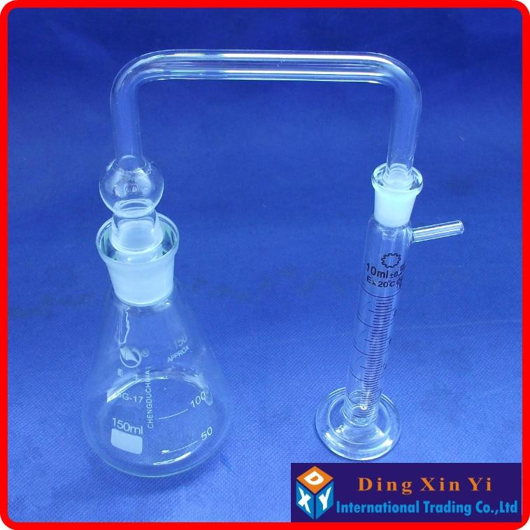 Measuring Arsenic Bottle,Gutzeit test,Measuring arsenic glass apparatus,150ml arsenic in water for human consumption