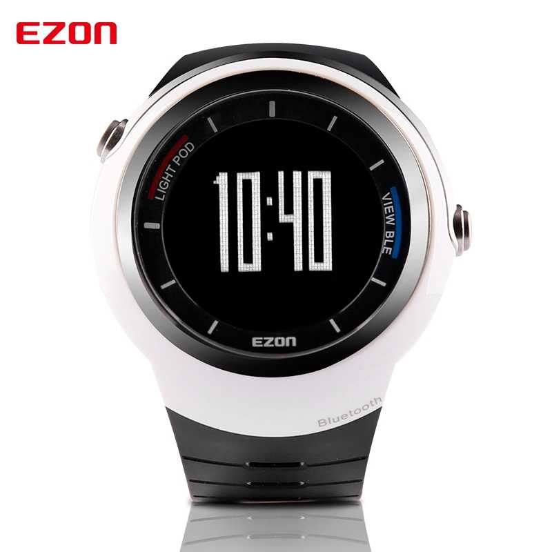 EZON S2 Outdoor Sports Running Watches Bluetooth 4.0 Pedometer Calories Counter Fitness Wristwatch for ios Android Phone