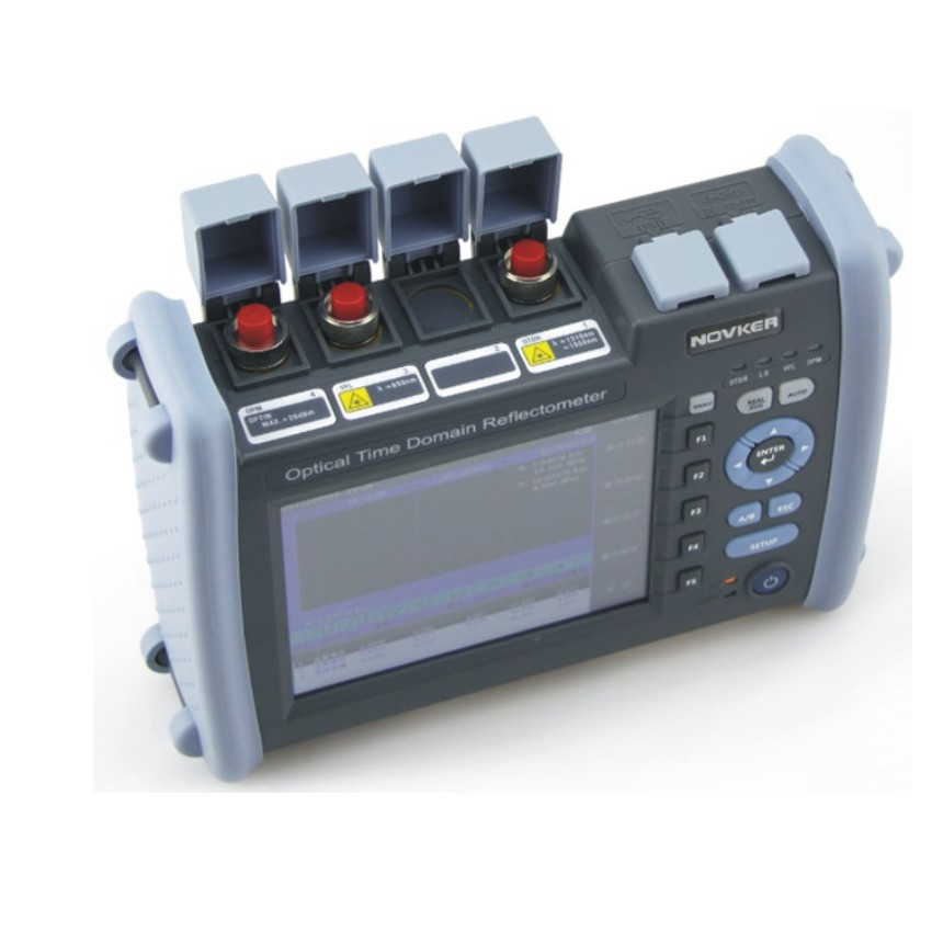 NK6000 OTDR Optical Fiber Breakpoint Detector with Built-in Visual Red Light for Locating Faults 3