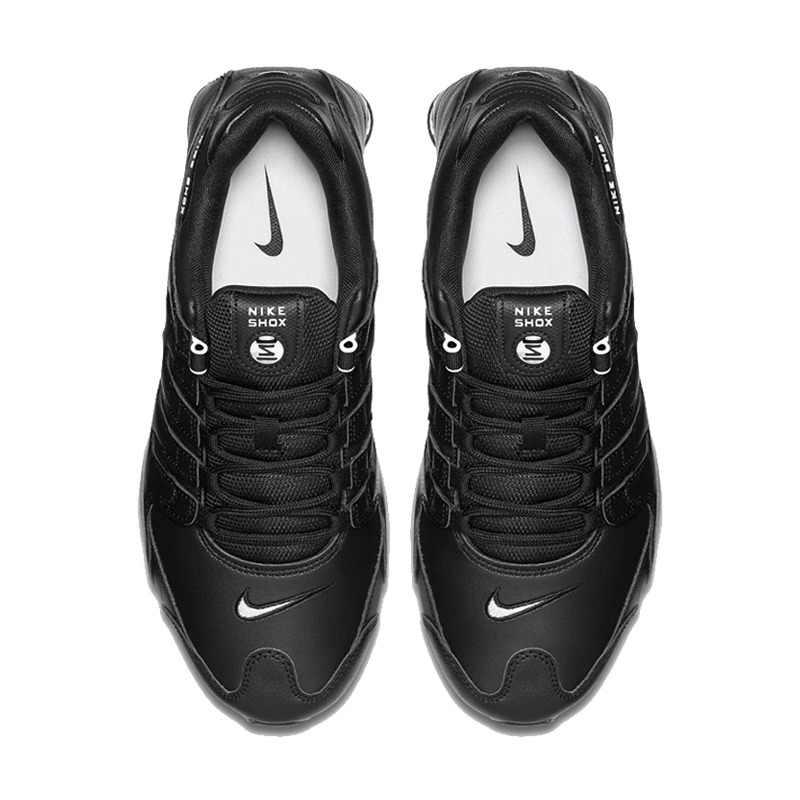 buy popular ab130 5904c ... Original New Arrival NIKE SHOX NZ EU Men s Running Shoes Sneakers ...
