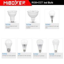 Milight E14 GU10 MR16 E27 4 W 5 W 6 W 8 W 9 W 12 W RGB CCT Светодиодная лампа Плаче Spotlight FUT103/FUT104/FUT013/FUT014/YB1/FUT012/FUT105
