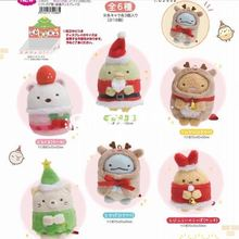 OCHGEP 8 шт./компл. San-X Sumikko Gurashi Рождество Япония Аниме плюшевый брелок уголок био ручная биологическая игрушка для детей девочка