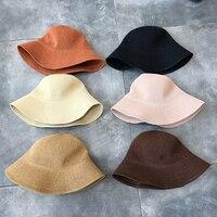 2018 New Women Sun Hats Simple Straw Hat Sunproof Summer Care Beach Cap Female Artistic Big Brim Caps Breathable Summer Ladies