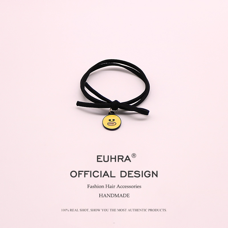 EUHRA 5 kinds Elastic Hair Bands Rabbit Bear Duckling Duck Egg High Elasticity Woman Girls Hair band Children Rubber Band in Women 39 s Hair Accessories from Apparel Accessories