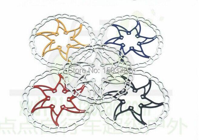 Taiwan ASHIMA ARO 08 ultralight 85 g Color 6 Disc <font><b>Brake</b></font> Pad pads stainless steel nails bike 160/180/230MM rotor hs1