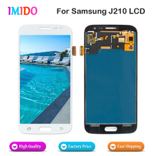 5Pcs AAA+++ Quality LCD Display For Samsung Galaxy J2 J210 J210F 2016 Touch Screen Digitizer Assembly Replacement parts цена
