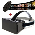 3D VR Виртуальная Реальность Очки С Bluetooth Пульт Дистанционного Управления 3D очки Чехол Для 3.5-6 Дюймов Смартфон Для Android для IOS система