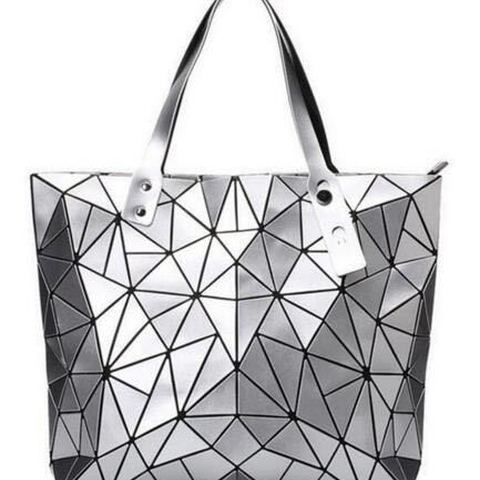 Women Brand New Designer PU Leather Large Geometric Bao Tote Bags Ladies Chic Multi Color Stylish Shopping Top Handle Bags Lahore