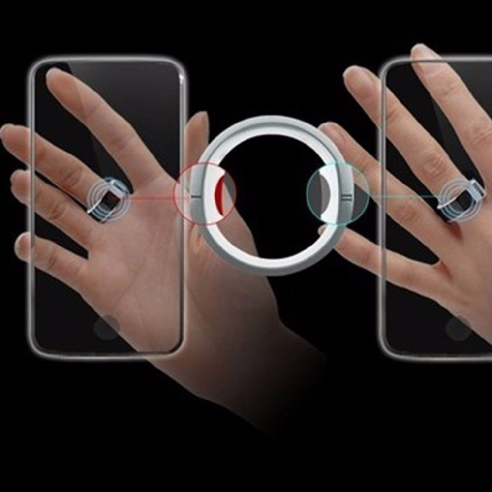 2018 New Smart Ring Hot Sale Smart Ring For Xiaomi Huawei Android  Smartphone Best Couple Gift Smart Digital Steel NFC Ring