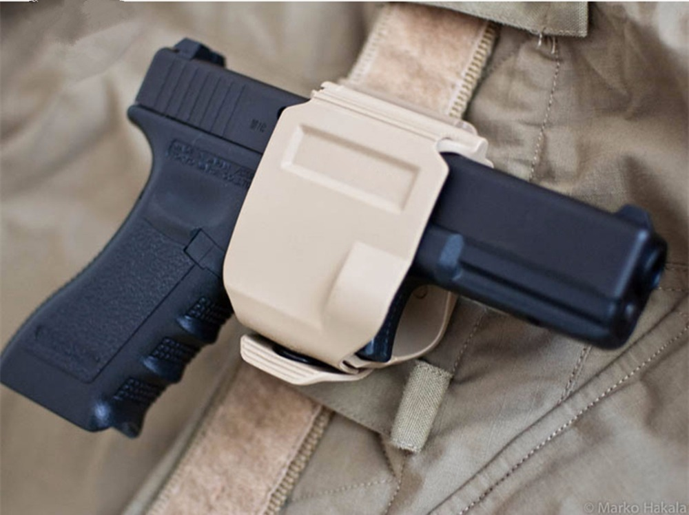pistol G17 holster GLOCK 19 23 Tactical Airsoft Paintball ar15 Accessories Hunting Shooting Roto Right-Handed Gun Clip