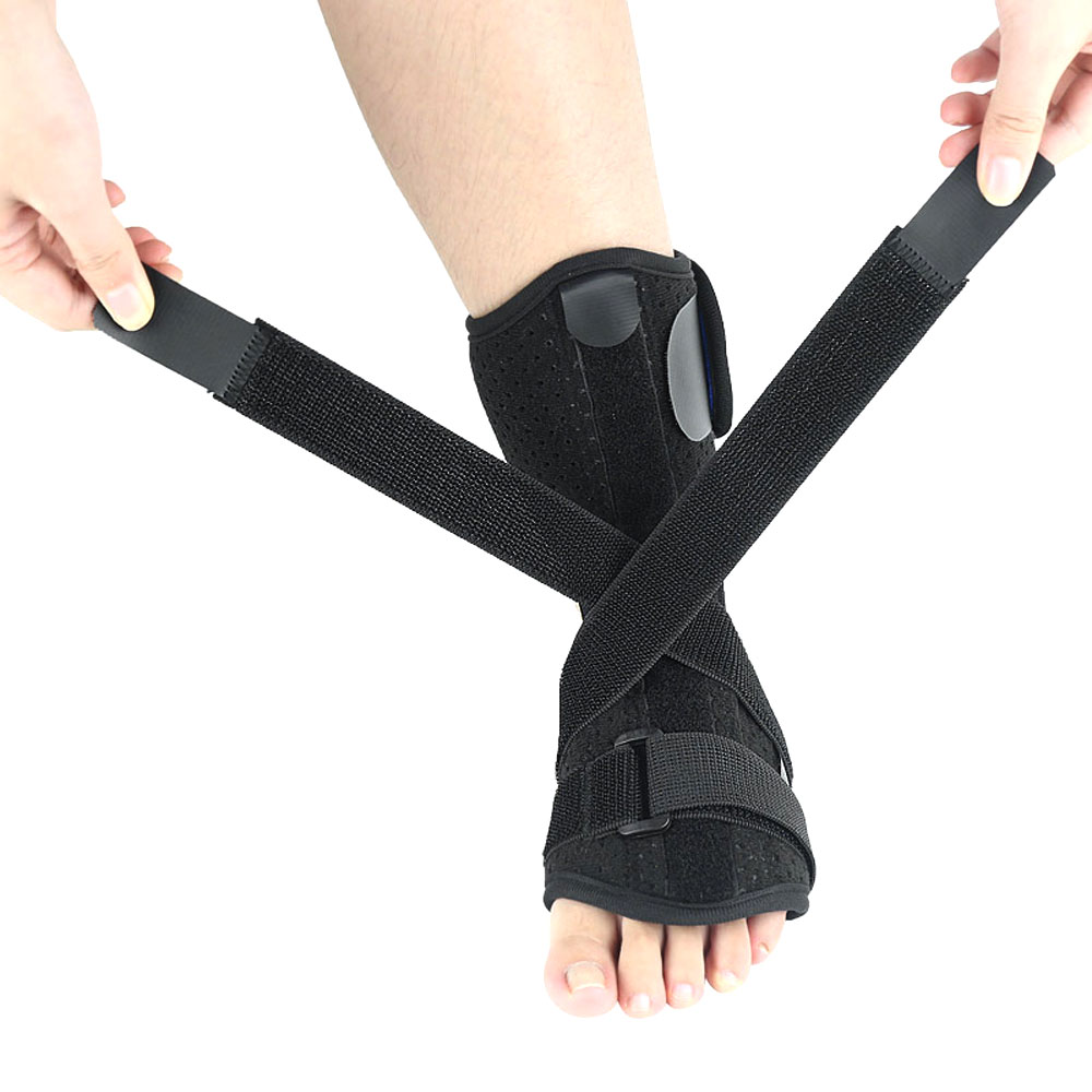 1Pcs Plantar Fasciitis Night & Day Splint Foot Orthosis Stabilizer Adjustable Drop Foot Orthotic Brace Support Pain Relief 4