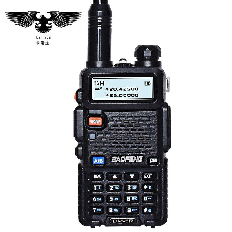 Baofeng NOUVEAU DM-5R plus DMR TDMA talkie-walkie radio portable interphone combiné communicateur jambon talkie-walkie radio bidirectionnelle