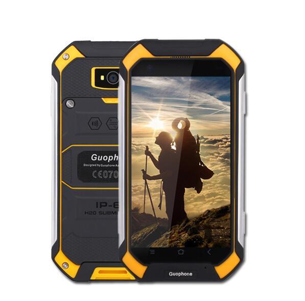 Guophone v19 android 6.0 mtk6580 quad core teléfono móvil 1 gb ram 8 gb rom ip68