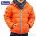 Children White Duck Down Jackets Thick Warm Outerwear with Hooded Children's New Fashion Coat Casual Kids WindProof Clothing