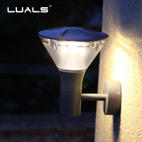 LED Outdoor Wall Lamp Creative Cast Aluminum Lawn Lights Luxury Home Wall Lamps Hallway Simple Modern Wall Light Art Lighting
