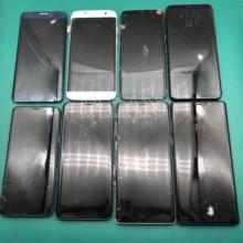 Pantalla LCD rota para Samsung S7edge S8 S8plus S9 S9plus Note 8 9, pantalla Lcd de reparación que practica la reparación, funciona bien