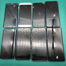 Практика ЖК-дисплей экран для samsung S7 края до s9 плюс в черный горошек ЖК-дисплей touch рабочих стекла сломанной практикующих ремонт ЖК-дисплей дисплей
