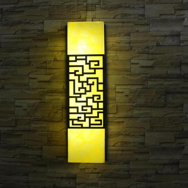 Led Artificial Stone Wall Lamp Modern Outdoor Garden Light Door Lamp Entrance Yard Waterproof Wall Lights