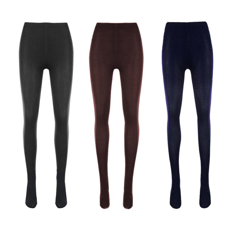 Winter Women Thick Pants Elastic Slim Velvet Warm Leggings Pants