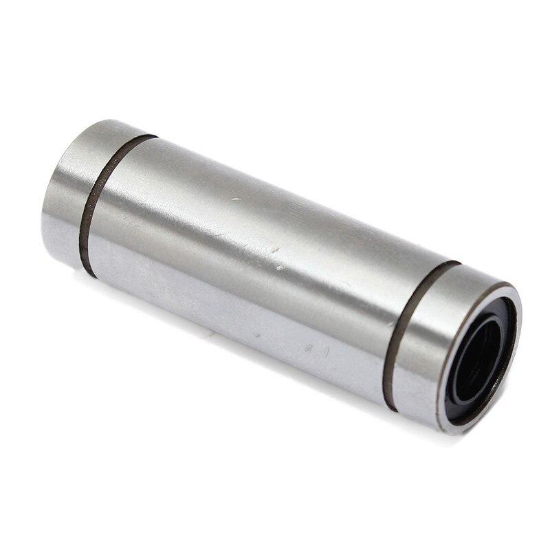 High-End 3D Printing Store LM8LUU 8mm Longer Linear Ball Bearing Bushing Linear Bearings CNC parts 3d printer parts accessories