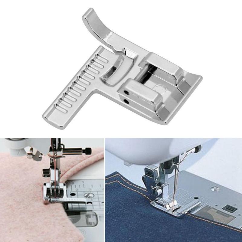 Универсальный бытовой рулетка с линейкой прижимное швейные принадлежности лапка швейной машины 7YJ249
