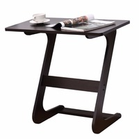 Goplus Portable Sofa Table Modern End Side Tables Console Snack TV Coffee Tray PC Laptop Desk