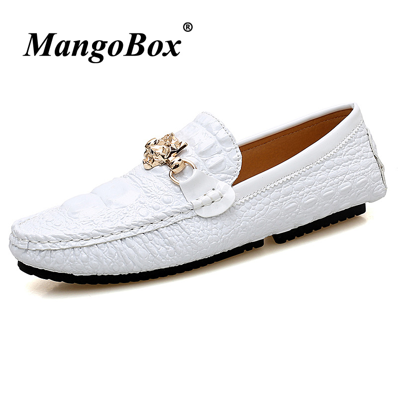 Shoes Male Men Loafers Silver Designer Fashion Rubber-Bottom 47 Flats-Footwear Black