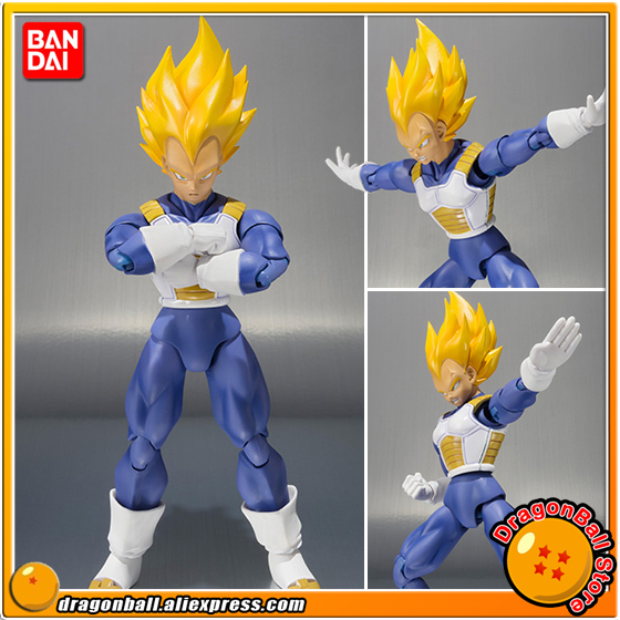 Sale  Dragon Ball Z Original BANDAI Tamashii Nations S.H.Figuarts / SHF Exclusive Action Figure - Vegeta Premium Color Edition cmt original bandai tamashii nations s h figuarts shf dragon ball db kid son gokou action figure anime figure pvc toys figure