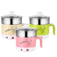 110V electric rice cooker 1.8L mini skillet US plug kitchen appliances portable travel rice pot for 2 3 people