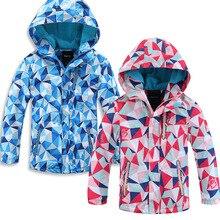German original single child jacket windproof and waterproof rain jacket small rodents in stock free shipping цена