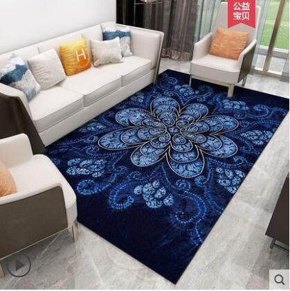 4000*3000mm grand tapis Post-Moderne Art Tapis décoration d'intérieur tapis de chambre Canapé Café nappe de table Doux Étude Tapis Rectangle aucun