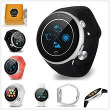 Aiwatch C5 Pulsmesser Uhr 360 Grad Krone Bluetooth4.0 Sport Smartwatch MTK2502 IP67 Smart Uhr Wasserdicht