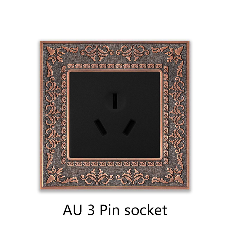 AU 3 Pin socket