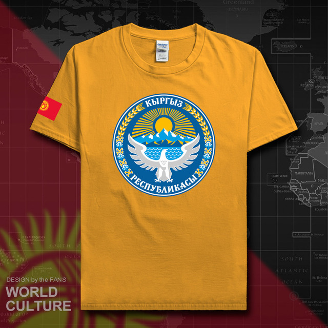 Kyrgyzstan Kyrgyz t shirt fashion jersey nation team 100 cotton t-shirt clothing tees country sporting gyms KG KGZ flag 20