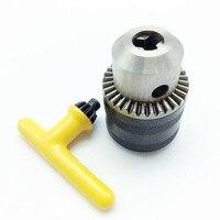 Mandril ajustável da broca da haste do eixo sds-plus do aro de 1.0-10mm b12 com o mandril chave do martelo e o adaptador do mandril do conjunto da haste de conexão