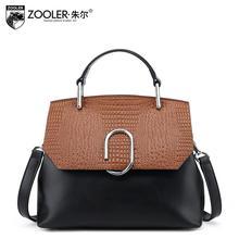 ZOOLER2016 новый высококачественный роскошный модный бренд сумки серпантин кожаная сумка счетчик подлинной, известные марки женщин