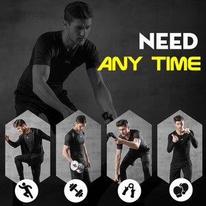 Image 2 - 5 Pz/set Tuta da Uomo Palestra di Fitness di Compressione di Vestiti del Vestito di Sport Corsa E Jogging Da Jogging vestito di Sport di Usura Esercizio di Allenamento Calzamaglie