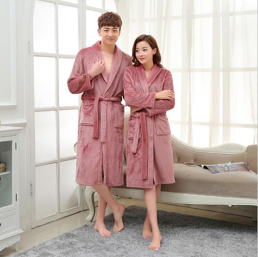 8af9440ab9 Women s Bathrobe Beautiful Breathable Coral Fleece Warm Super Sale robes  1pcs lot -in Robes from Underwear   Sleepwears on Aliexpress.com