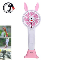 Heldhand Cute Animals Air Cooler USB Fan With 1200mA Rechargeable Battery Portable Mist Fans Air Conditioner
